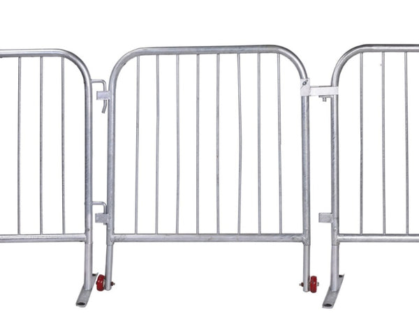 Crowd Control Barrier Stanchions CrowdMaster™ Barricade Short Gate - TheCrowdController.com