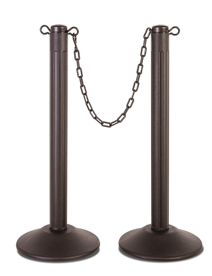 [CUSTOM] ChainBoss Molded Stanchions - Unfilled base / 2-Pack