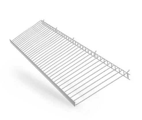 Barriers Stanchions Large Wire Shelf - TheCrowdController.com
