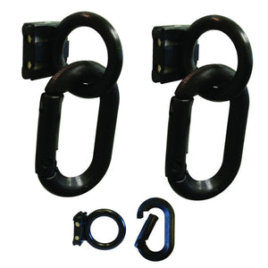 Crowd Control Magnet Ring and Carabiner Kit For Barrier Stanchions - TheCrowdController.com