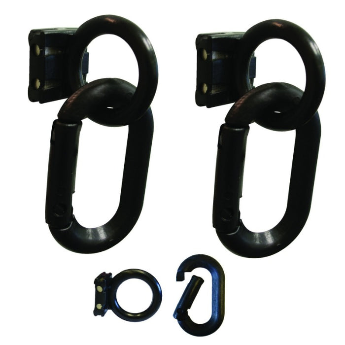 Crowd Control Magnet Ring and Carabiner Kit For Barrier Stanchions