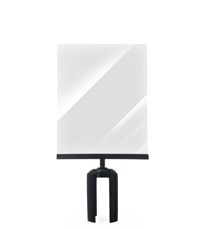 Barriers Stanchions Paper Sign Holder - The Crowd Controller