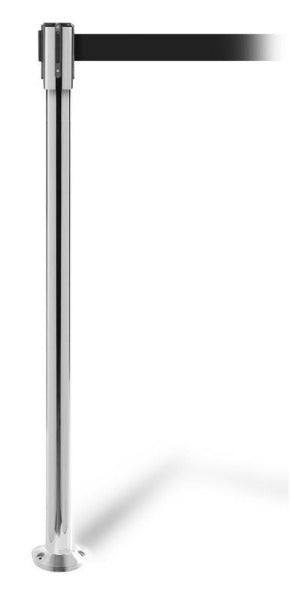 Barriers Stanchions QueuePro 200 Fixed with 11 FT Belt - The Crowd Controller