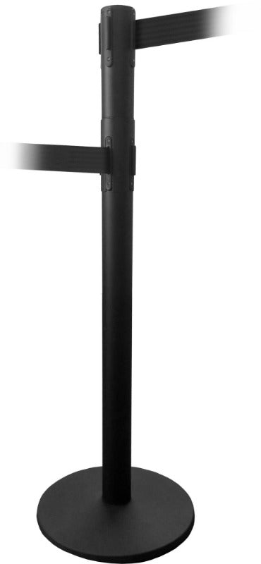 Barriers Stanchions QueuePro 250 Lane Closure - 11 FT Belts- The Crowd Controller