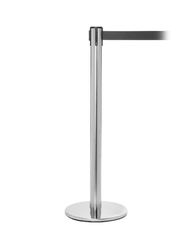 Barrier Stanchion QueuePro 250 with 11 Ft Belt- The Crowd Controller