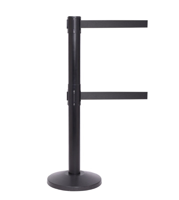 Barriers Stanchions QueuePro 300 Twin - 16 FT Belts - The Crowd Controller