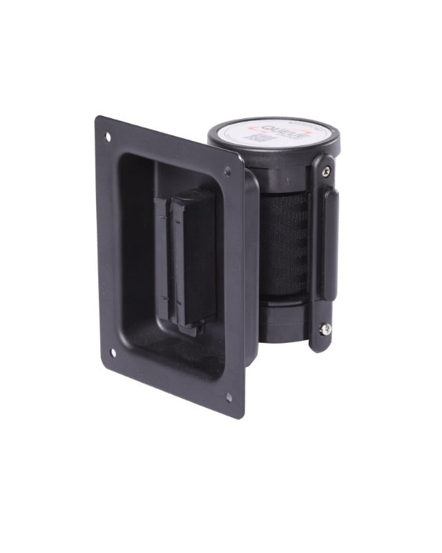 Crowd Control WallPro Recessed Retractable Belt Unit - TheCrowdController.com