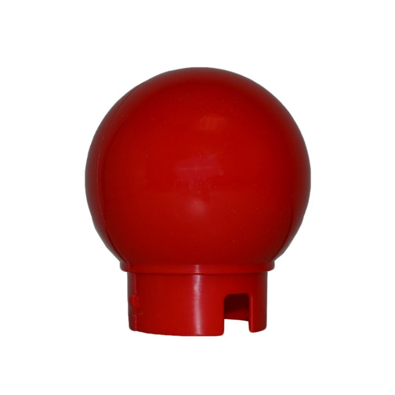 "Crowd Control Replacement Ball Top for 3"" Diameter For Plastic Barrier Stanchions - TheCrowdController.com"