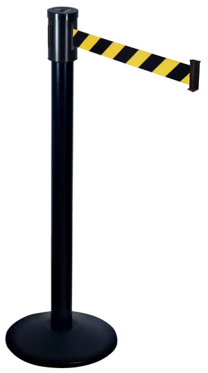 Retracta-Belt® Crowd Control Post 15' Single Line - The Crowd Controller