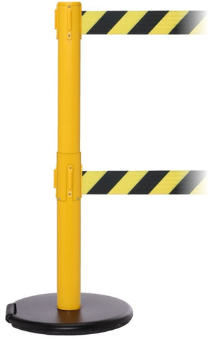 Barriers Stanchions RollerSafety Twin 250 Xtra- The Crowd Controller