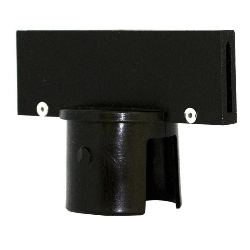 Crowd Control Barrier Stanchions Sign Adapter For 2 Plastic Stanchions - TheCrowdController.com