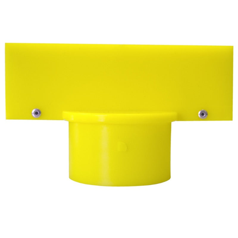 "Crowd Control Sign Adapter For 2.5"" Plastic Barrier Stanchion - TheCrowdController.com"