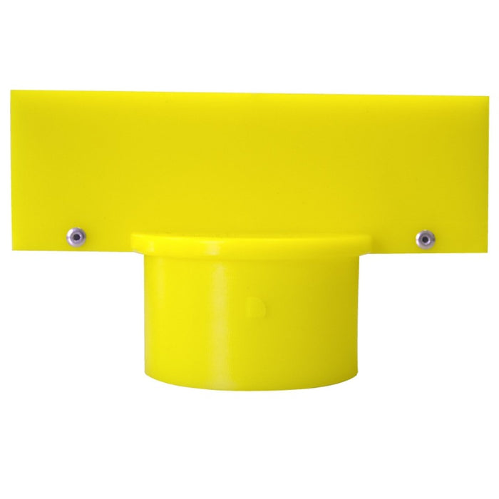 "SIGN ADAPTER FOR 2.5"" PLASTIC STANCHION"