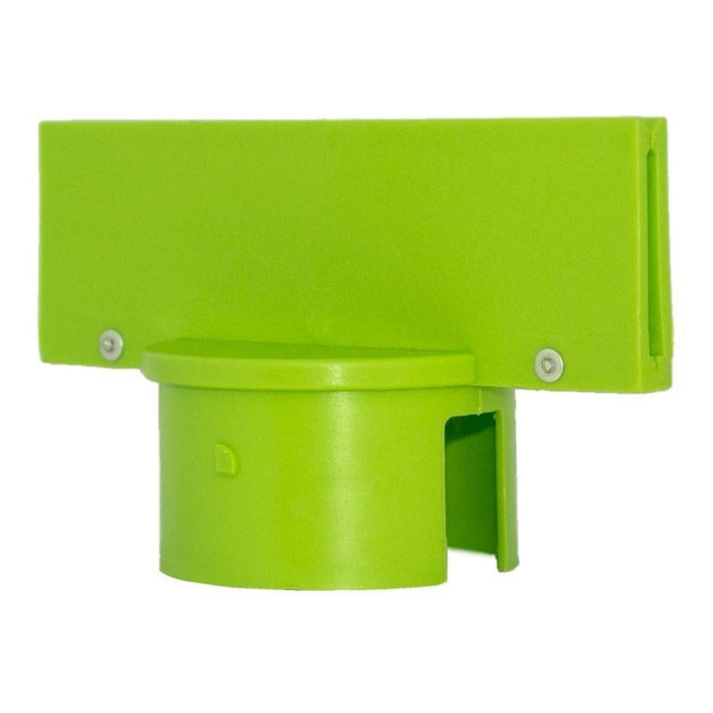 "Crowd Control Sign Adapter For 3"" Plastic Barrier Stanchion - TheCrowdController.com"