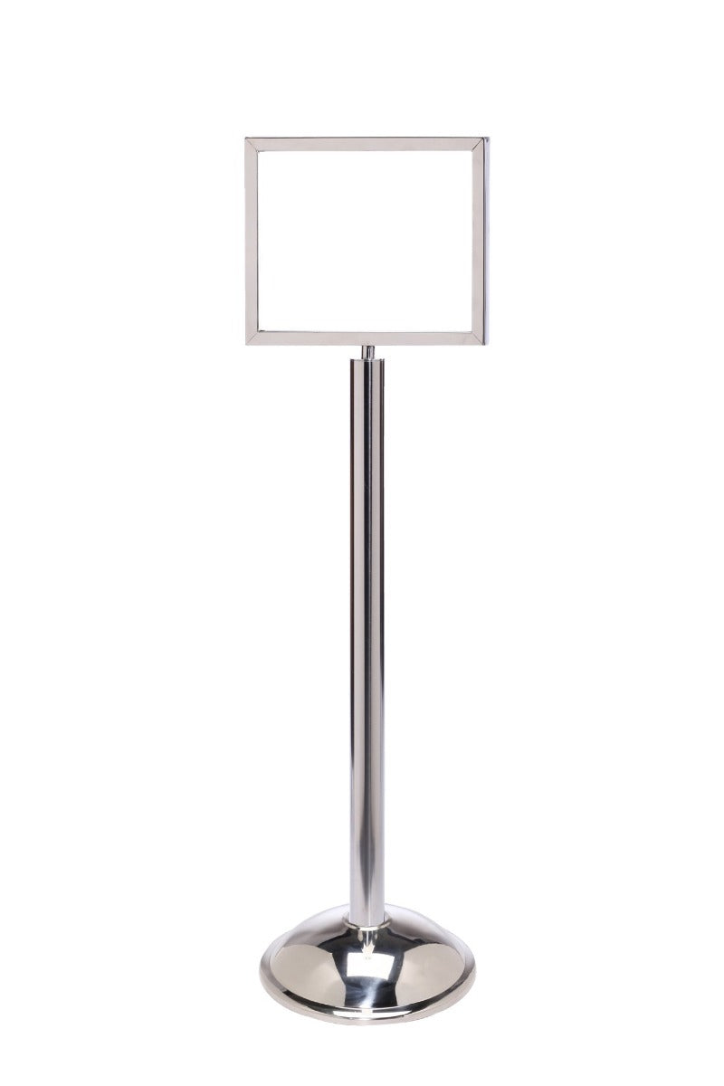 Sign Stand - Horizontal Frame / Dome Base - The Crowd Controller