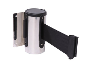 TCC WallMount Chrome with 7.5' Belt - The Crowd Controller