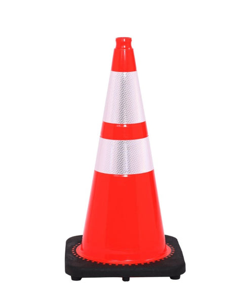 Barriers Stanchions Traffic Cone 280 Reflective Colars Weighted Bases- TheCrowdController