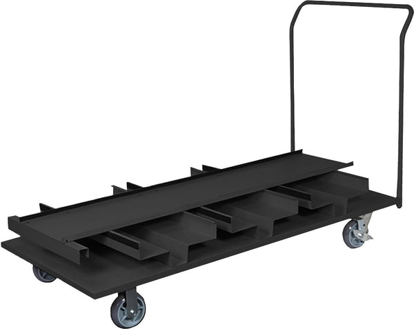 Barriers Stanchions Vertical Cart- TheCrowdController.com