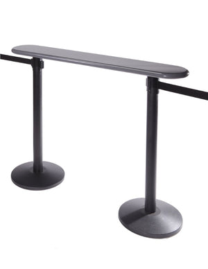 Barriers Stanchions Writing Table - The Crowd Controller
