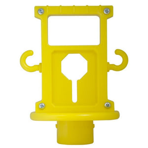 Crowd Control X-Treme Replacement Ball top For Plastic Barrier Stanchions - TheCrowdController.com