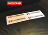 Stickers autocollant 3D doming blanc