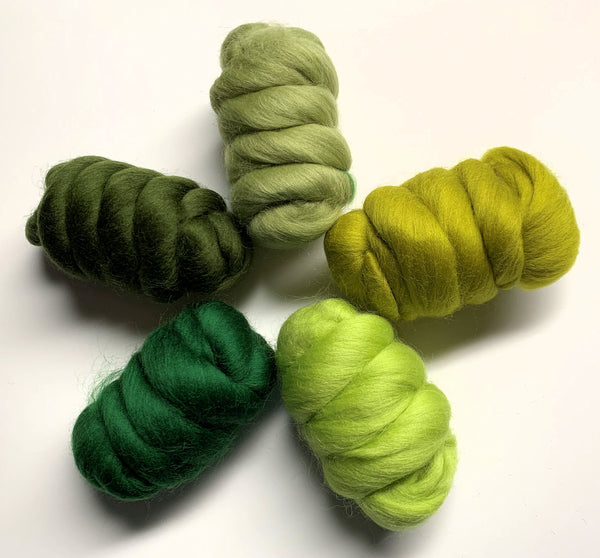 Green Goddess - Merino Artisan Mix