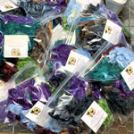 Mulberry Silk Mill Ends - Mixed Bag of different colors - 4oz