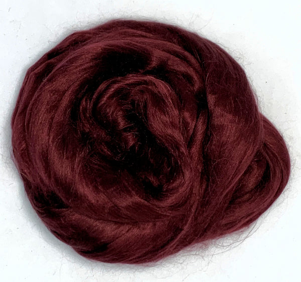 Merlot - Dyed Mulberry Silk