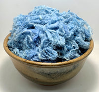 Soft Blue - Mulberry Silk Noil
