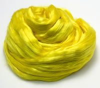 Lemon Drop - Dyed Mulberry Silk