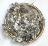 Natural Silver - Yearling Mohair Locks
