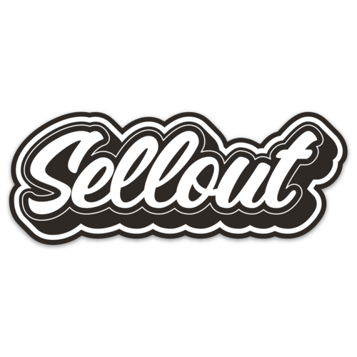 STICKER | SELLOUT