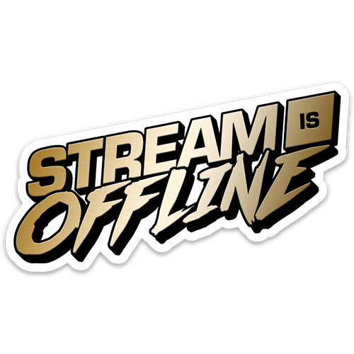 STICKER | STREAM IS OFFLINE - GOLD