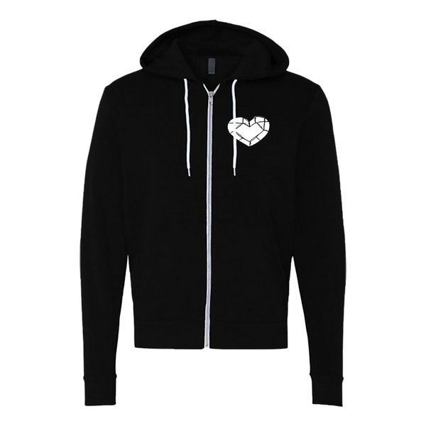 ZIP-UP HOODIE | DEATH DO US PART