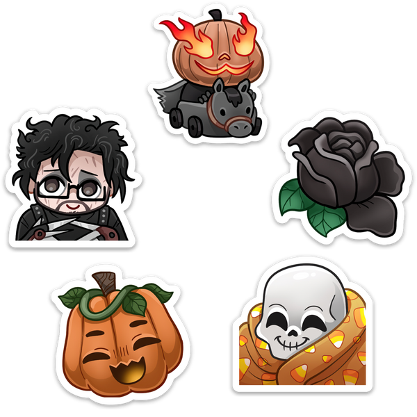 STICKER PACK | HALLOWEEN EMOTES! #2