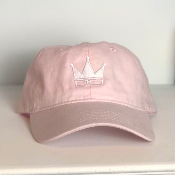 PINK HAT | WHITE CROWN