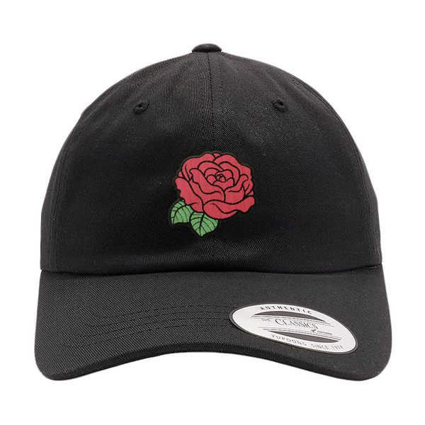 DAD HAT | RED ROSE