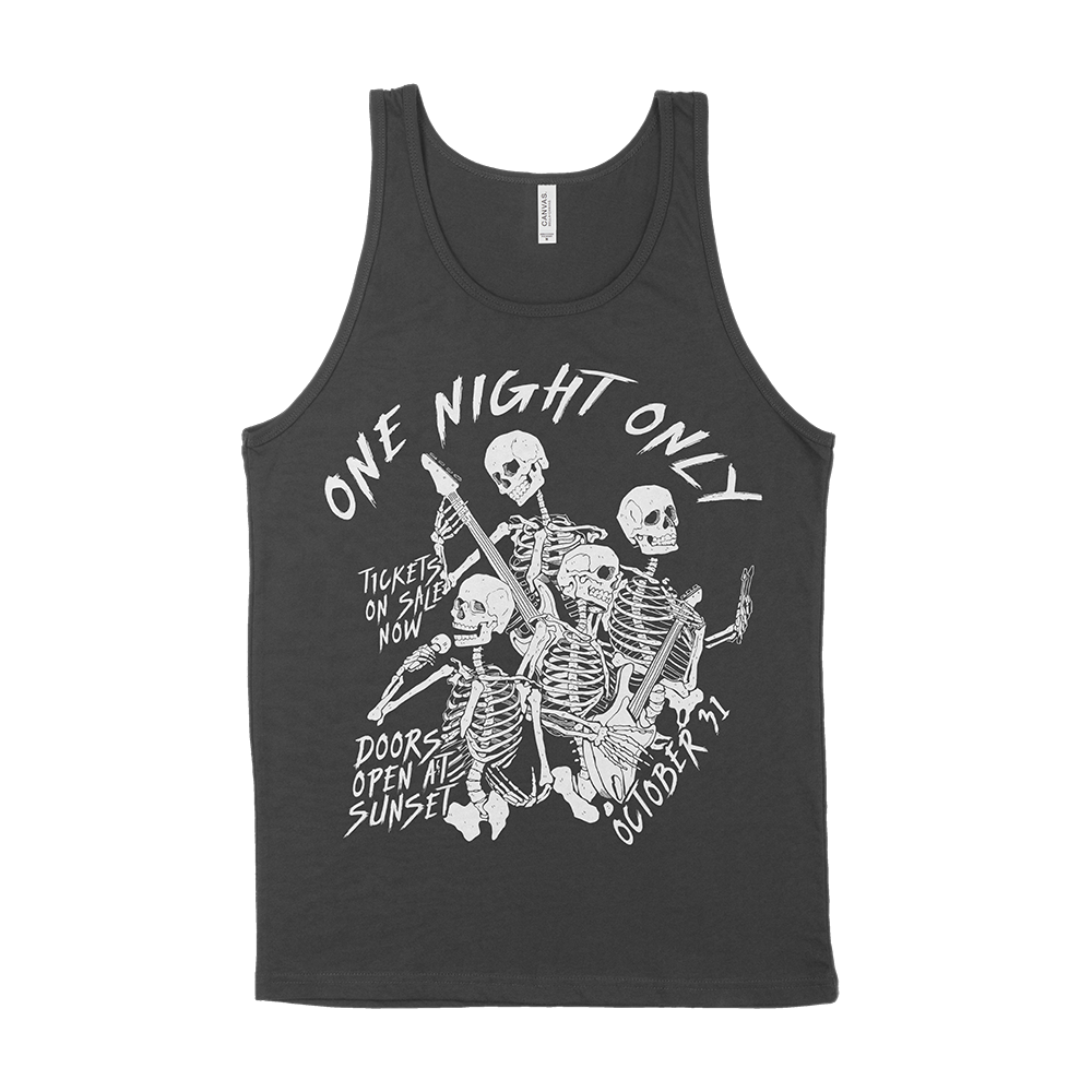 TANK TOP | SKELETON BAND