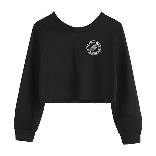 CROPPED CREWNECK | FRAMERATE EMBLEM