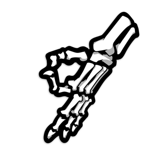 STICKER | SKELETON HAND