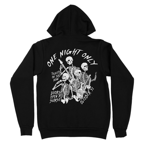 ZIP-UP HOODIE | SKELETON BAND