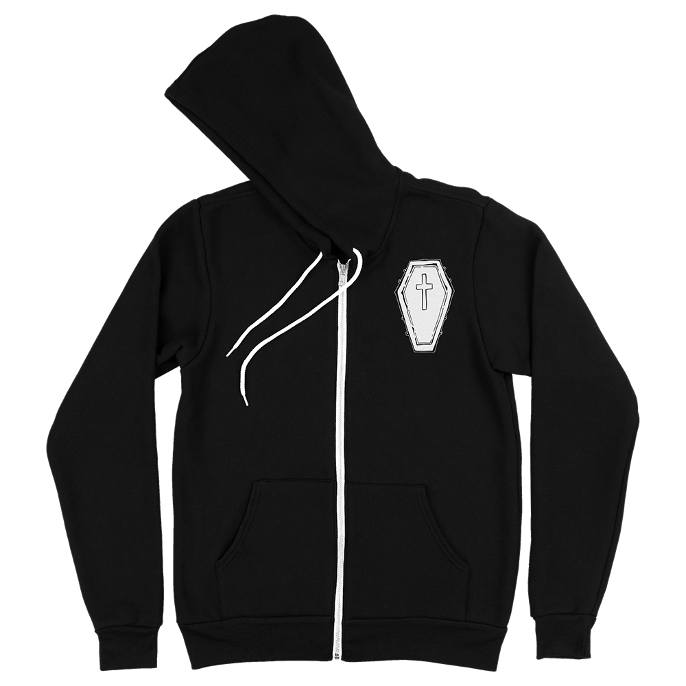 ZIP-UP HOODIE | RISE AND SHINE