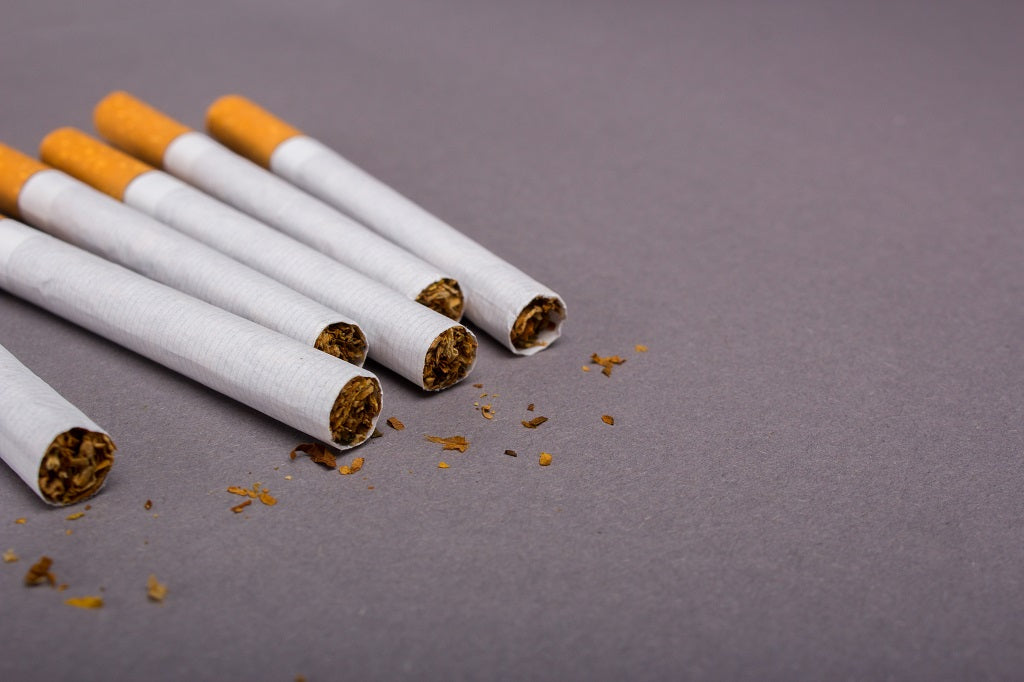 Empty CIgarette Rolling Paper Alternative