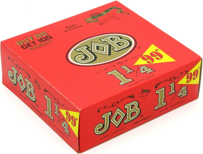 JOB ROLLING PAPER 1¼ 100 BOOKLETS PER BOX