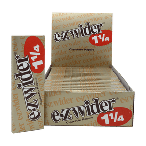 EZ WIDER 1 1/4 LIGHTS ROLLING PAPERS 24 BOOKLETS