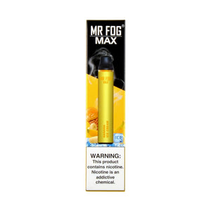 MR FOG MAX DISPOSABLE VAPE PEN BANANA ICE CREAM - Green Caviar Club