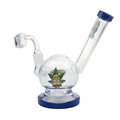 SIDE CAR RICK DESIGN WATER PIPE / RIG - WITH 14M BOWL & 4MM BANGER | 6 INCH