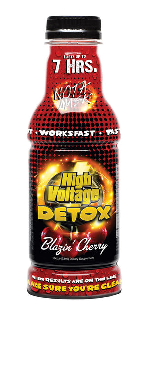 HIGH VOLTAGE DETOX 16OZ BLAZIN CHERRY