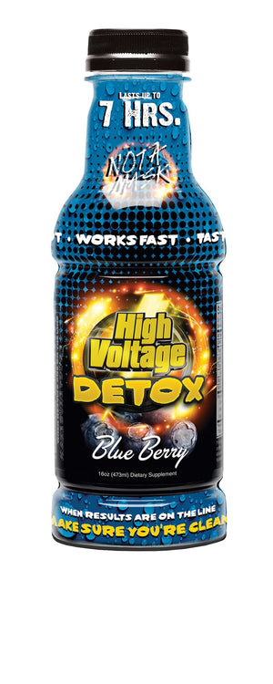 HIGH VOLTAGE DETOX 16OZ BLUE BERRY