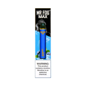 MR FOG MAX DISPOSABLE VAPE PEN BLUEBERRY ON ICE - Green Caviar Club